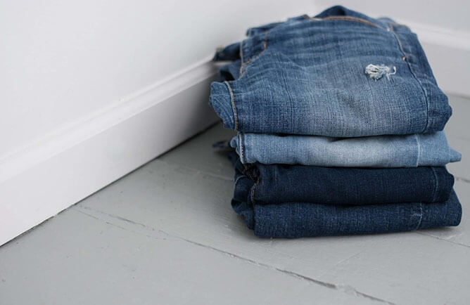 silver jeans product image