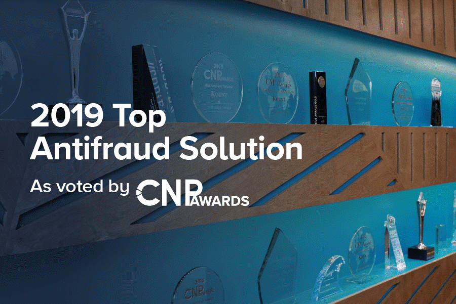 Kount Sweeps CNP's Digital Fraud Prevention Awards