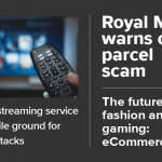 Kount Weekly News Digest cover image. Stories this week include your streaming service is fertile ground for bot attacks, Royal Mail warns of parcel scam, and the future of fashion and gaming: eCommerce